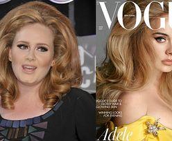 """Adele pozuje dla """"Vogue'a"""" i mówi o swojej metamorfozie: """"Nigdy nie chodziło o utratę wagi. Kiedy ćwiczyłam, nie odczuwałam żadnego niepokoju"""""""