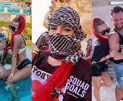 """Trybson i Eliza relacjonują wyprawę do Egiptu przy kolorowych trunkach: """"Taki sylwester piękny mamy"""" (ZDJĘCIA)"""