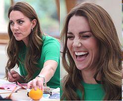 Kate Middleton dokazuje z dziećmi na ekologicznych warsztatach (ZDJĘCIA)