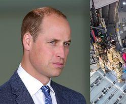 Książę William interweniował w sprawie ewakuowania ZNAJOMEGO ŻOŁNIERZA z Afganistanu