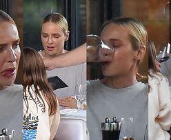 Magdalena Mielcarz i jej dorodne usta rozkoszują się rodzinną kolacją w towarzystwie męża i dwóch córek (ZDJĘCIA)