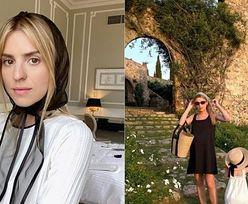 Kasia Tusk spacerowała po Toskanii w klapkach za ponad 2,5 TYSIĄCA ZŁOTYCH. Luksusowo?