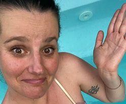 """Zofia Zborowska narzeka z basenu na niemożność zobaczenia stóp i zdradza: """"Piersi urosły mi z 4 ROZMIARY!"""" (FOTO)"""