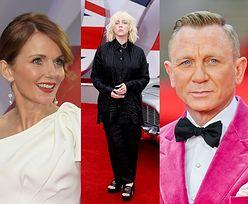 """Gwiazdy na premierze nowej części """"Jamesa Bonda"""": Daniel Craig, Billie Eilish, Geri ze Spice Girls... (ZDJĘCIA)"""