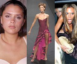"""Metamorfoza Victorii Beckham: od dziewczyny z sąsiedztwa po ostrzykniętą projektantkę. Kiedyś mówiła, że """"woli celebrować to, kim jest""""... (ZDJĘCIA)"""