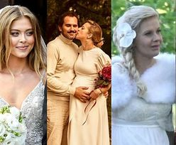 Te celebrytki brały ślub w ciąży: Edyta Pazura, Lara Gessler, Joanna Opozda... (ZDJĘCIA)