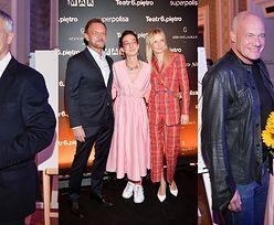 Dumni Cezary i Edyta Pazurowie wspierają 32-letnią córkę aktora na wernisażu jej prac (ZDJĘCIA)