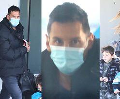 Lionel Messi rzuca groźne spojrzenia, wracając z rodzinką z wakacji w Argentynie (ZDJĘCIA)