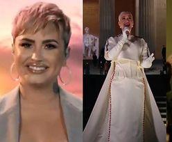 """""""Celebrating America"""". Gwiazdy świętują zaprzysiężenie Joe Bidena: Demi Lovato, Katy Perry, Justin Timberlake i inni (ZDJĘCIA)"""