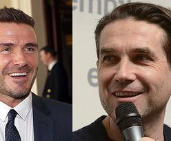 """Marcin Dorociński chwali się, że Beckham ogląda serial z jego udziałem: """"Davidowi się podoba"""""""