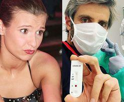 """Joanna Koroniewska broni męża wykonującego test na koronawirusa : """"Abstrakcją jest, że to wymaga jakiegokolwiek tłumaczenia"""" (FOTO)"""