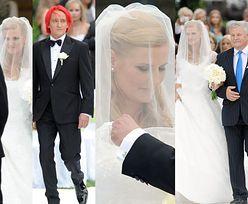 Michał Wiśniewski i Dominika Tajner siedem lat temu wzięli ślub: Mazury, Terentiew w roli świadka, suknia od Grycanki... (ZDJĘCIA)