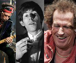Keith Richards, żywa definicja rock'n'rolla, kończy 75 lat (ZDJĘCIA)