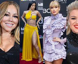 Gwiazdy pozują na gali Billboard Music Awards: Mariah Carey, Cardi B, Taylor Swift, Kelly Clarkson... (ZDJĘCIA)