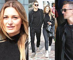 Arkadiusz Milik i Jessica Ziółek na romantycznym spacerze w Wenecji