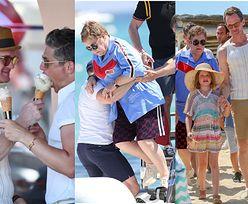 Elton John i Neil Patrick Harris zabrali swoich mężów i dzieci na wspólne wakacje (ZDJĘCIA)