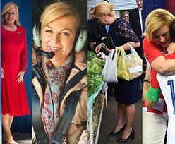 Prezydent Chorwacji Kolinda Grabar-Kitarović została obwołana najgorętszą polityk mundialu! Słusznie? (ZDJĘCIA)