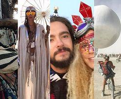 Burning Man 2018: Lustrzana Ziemia, dziwne stroje i Heidi Klum z młodym chłopakiem (ZDJĘCIA)