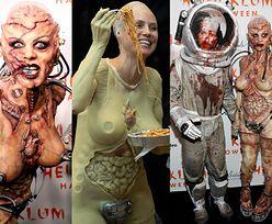 Halloween 2019: Heidi Klum w kostiumie… krwawej kosmitki. Transformacja trwała 13 GODZIN! (ZDJĘCIA)