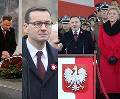 Święto Niepodległości: Andrzej Duda, Mateusz Morawiecki i Jarosław Kaczyński na oficjalnych obchodach 11 listopada (ZDJĘCIA)