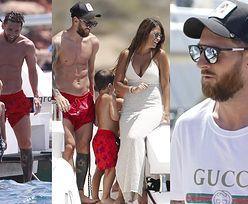 Zrelaksowany Messi spędza rodzinne wakacje na Ibizie (ZDJĘCIA)