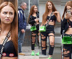 Ekscytujące kulisy sesji zdjęciowej Angeliki Muchy: spotkanie z nieznajomym, naburmuszona mina i rozszarpane spodnie (ZDJĘCIA)