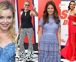 Mila Kunis, Sharon Stone, Iza Miko i Weronika Rosati pozują na ściance w Los Angeles (ZDJĘCIA)
