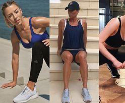 Tak gwiazdy dbają o formę latem: Lewandowska ćwiczy na wakacjach, Małgonia trenuje na schodach, a Wieniawa uprawia jogę (ZDJĘCIA)