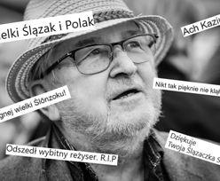 """Gwiazdy, politycy i dziennikarze żegnają Kazimierza Kutza. """"Nikt tak pięknie nie klął!"""" (GALERIA)"""