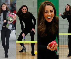 """Kate Middleton spełnia się w roli """"królowej ludzkich serc"""" w marynarce za 3 tysiące złotych (ZDJĘCIA)"""