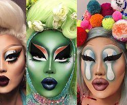 """Gwiazda """"RuPaul's Drag Race"""" tworzy niesamowite makijaże. Poznajcie Kim Chi"""