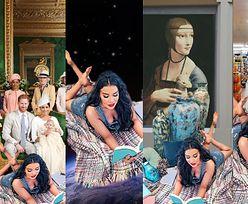 Macademian Girl czyta płynowi do płukania w sklepie, w kosmosie i na polu bitwy pod Grunwaldem (ZDJĘCIA)