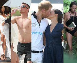 ZDJĘCIA TYGODNIA: Kaczyńska i Krupińska w sukniach ślubnych, J.Lo i Aniston w bikini, a Peszko z szampanem