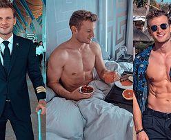 CIACHO TYGODNIA: Pilot Patrick, który żyje fit i zwiedza świat (ZDJĘCIA)