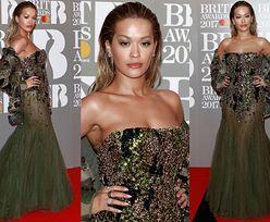 Tak wyglądały gwiazdy na rozdaniu Brit Awards 2017! Katy Perry, Rita Ora, Brooklyn Beckham... (ZDJĘCIA)