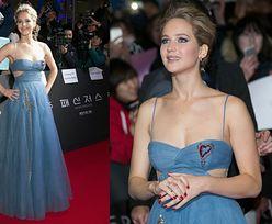 Jennifer Lawrence pozuje na czerwonym dywanie w Seulu (ZDJĘCIA)