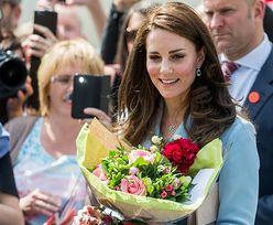 Elegancka Kate Middleton podczas samotnej wizyty w Luksemburgu (ZDJĘCIA)