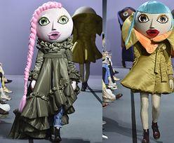 NAJDZIWNIEJSZE stylizacje z wybiegów tygodnia mody w Paryżu (ZDJĘCIA)