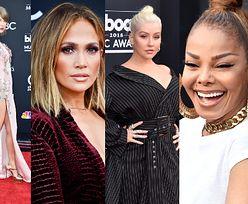 """Rozczochrana Lopez, elegancka Swift i naciągnięta twarz Janet Jackson na gali """"Billboardu"""" (ZDJĘCIA)"""