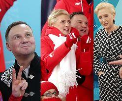 Przejęci Dudowie kibicują olimpijczykom w Korei (ZDJĘCIA)