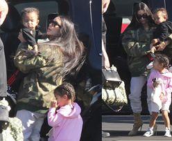 Kim Kardashian leci na Kostarykę z synem i córką (ZDJĘCIA)