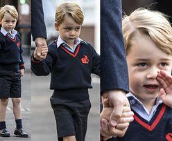 Czteroletni książę Jerzy idzie na pierwsze zajęcia w szkole! (ZDJĘCIA)
