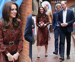 Księżna Kate w sukience za 4 tysiące na świątecznej imprezie (ZDJĘCIA)