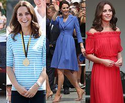 Zobaczcie WSZYSTKIE STYLIZACJE Kate Middleton z Polski i Niemiec! (ZDJĘCIA)