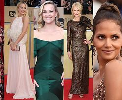 SAG Awards 2018: Nicole Kidman, Reese Witherspoon, Halle Berry, Margot Robbie, Brie Larson... (DUŻO ZDJĘĆ)