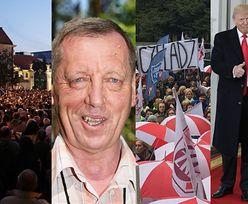 Tym żyliśmy w minionym roku: Zwycięstwa Trumpa i Macrona, wycinka Puszczy Białowieskiej, walka o sądy...