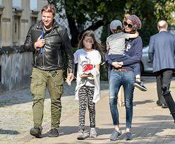 Viola i Karolak z dziećmi na obiedzie. Wrócą do siebie? (ZDJĘCIA)
