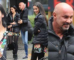 Saleta zabrał do TVN-u młodszą dziewczynę! Pasują do siebie? (ZDJĘCIA)