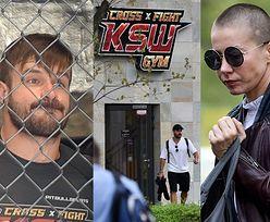 Kasia Warnke aka Sinead O'Connor wspiera męża ćwiczącego do KSW. Będzie walczył w klatce? (ZDJĘCIA)