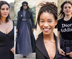 Monica Bellucci, Willow Smith i córka Romana Polańskiego na pokazie Diora w Paryżu! (ZDJĘCIA)